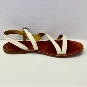 Lucky Brand Leather Sandal Flats